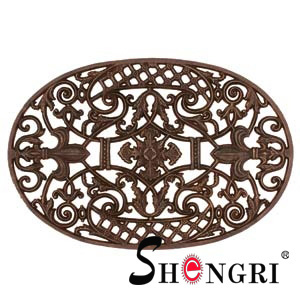 cast iron oval door mat srmd 3003