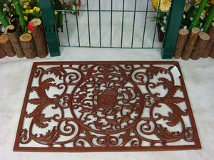 cast iron rectangle door mat srmd 3006