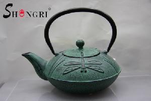 dragonfly tea pot