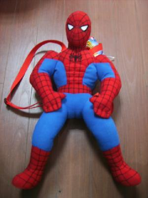 plush spiderman