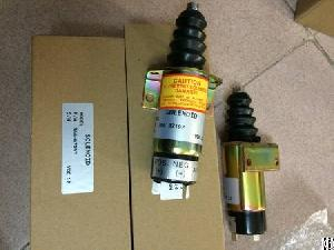 Diesel Generator Engine Fuel Shutoff Solenoid Lister Petter Soleniod 12v
