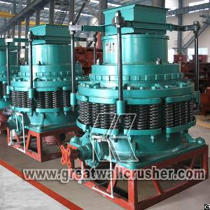 Hpc Cone Crusher For Sale In 220 T / H Crushing Plant