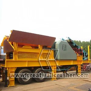 Portable Crusher Plant Price For Sale In 120 Tph Construction Waste Project Perth Australia