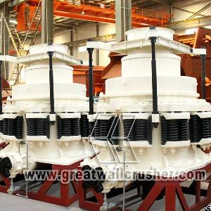 The Price Of Spring Cone Crusher For 50 T / H Crushing Plant Peru