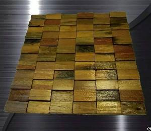 Wood Mosaic Tile