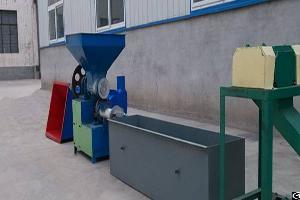 eps recycling machine granulator