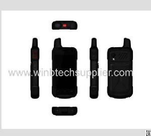 4g Lte And Walkie Talkie Intrinsically Safe Rugged Mobile Nfc Walkie Talkie Smart Phone