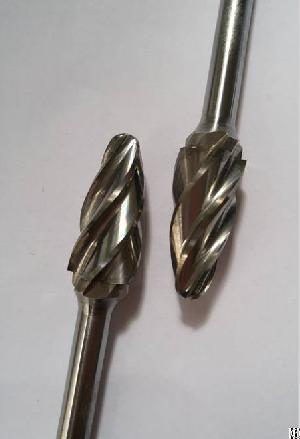 Rbf 1225 6 Alu-sz Carbide Burs For Nonferrous