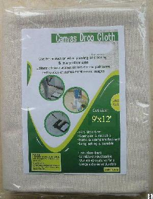 9x12 heavy duty canvas drop cloth 8oz