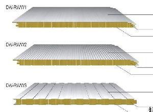 Rockwool Sandwich Panels, Mineral Wool Panel