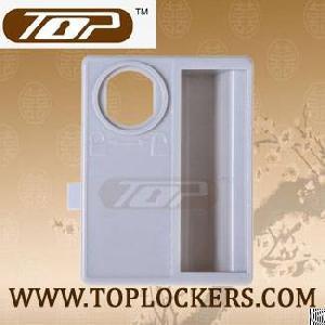 abs plastic handle lockers