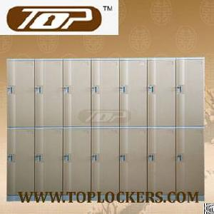 Double Tier Abs Plastic Cabinets, Coffee Color