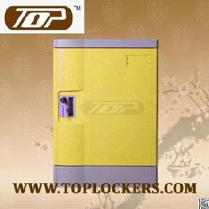 four tier recyclable lockers abs plastic