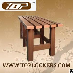 Plastic Bench For Lockers