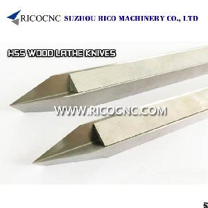 steels v cutter hss woodturning tool cnc wood lathe knife turning tools