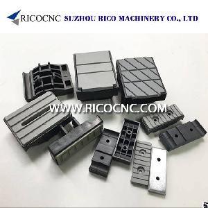 homag edgebanding chain pads conveyor track biesse scm ima edgebander machine