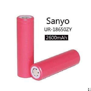 sanyo 18650 2600mah ur18650zy li ion rechargeable battery
