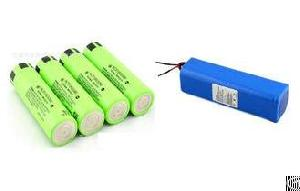 panasonic ncr18650a ncr18650b battery packs equipped protection wires