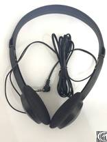 disposable aviation airline headphone