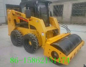 China Xuzhou Lujie Skid Loader Vibratory Roller Attachments