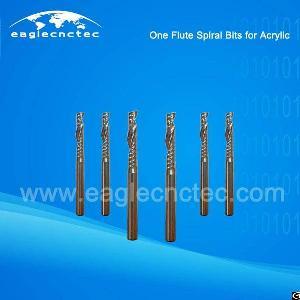 acrylic cutting flute spiral cut router bit