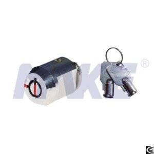 Brass Tubular Cam Lock, Pick Resistant, Shiny Chrome