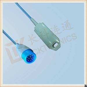 Biolight 12pin Reusable Spo2 Sensor Adult Finger Clip, L 3m