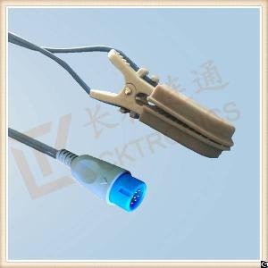 bruker 12pin reusable spo2 sensor veterinary animal l 3m