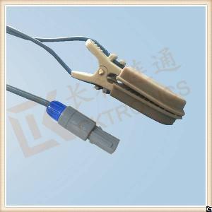 9 pin reusable spo2 sensor veterinary animal l 3m