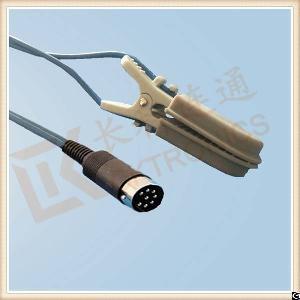 datascope 8 pin reusable spo2 sensor veterinary animal l 3m