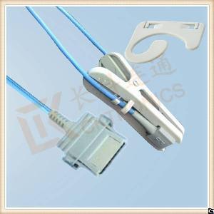 nonin 8 pin adult ear clip reusable spo2 sensor l 3m
