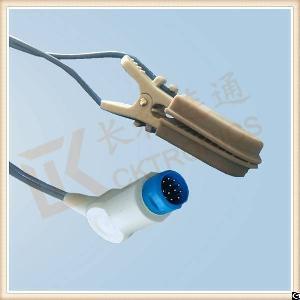 philips 12 pin reusable spo2 sensor veterinary animal l 3m