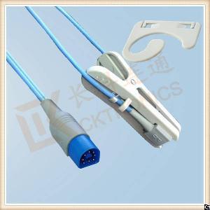 philips 8 pin adult ear clip reusable spo2 sensor l 3m