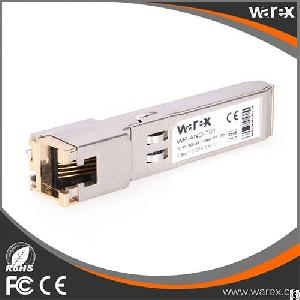 glc t sfp copper transceiver 10 100 1000base rj 45 connector