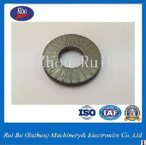 Carbon Steel Non-stardard External Dent Plain Washer With Iso