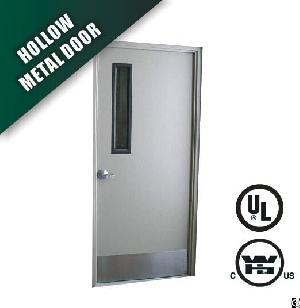 Steel Fire Door With Vision Glass