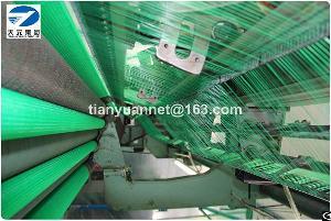 nylon polyethlene hdpe plastic multifilament green