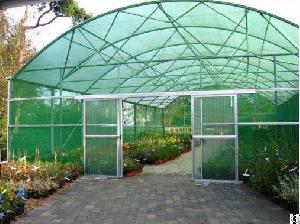 plastic green house roof sun shade