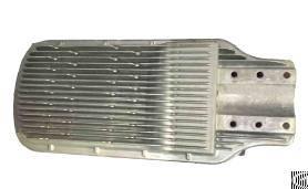 aluminum alloy led street light covers die casting deburring