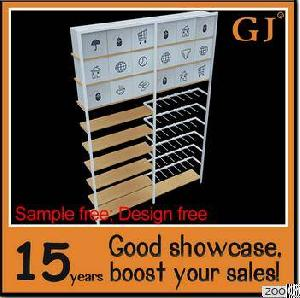 Free Design Store Display Merchandise Shelves From Manufacturers
