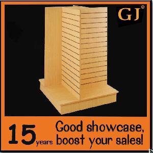 Garment Shop Gondola Unit Slat Wall Floor Stand From China Factory