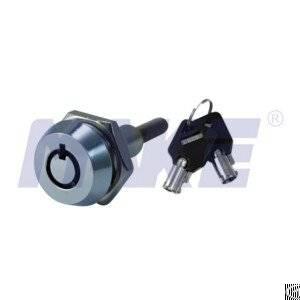 brass vending lock shiny chrome spindle inner thread