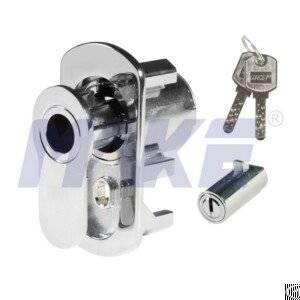 Brass Vending Machine Lock, L Pop-out Handle Operation