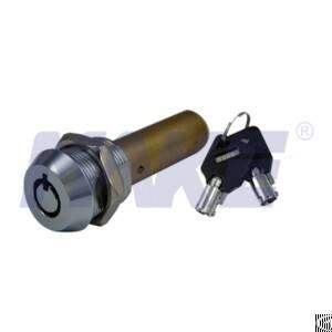 Vending Machine Screw Lock, Zinc Alloy, Brass