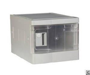 Plastic Office Locker, Engineering Abs, Strong Lockset For Security