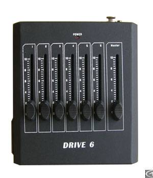 Led Controller, Led Dimmer, 6ch Manual Dmx Controller Phd001