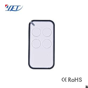 Plastic Rf Wireless Remote Control, Universal Remote For Barriers And Gates