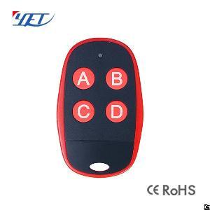 Small Plastic Wireless Rolling Code Rf Motor Remote Controls Universal