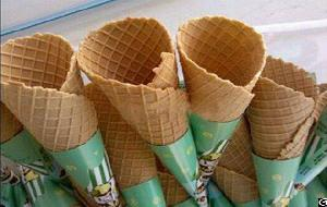 High Efficiency Ice Cream Cone Rolling Machine For Sale