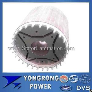 Premium Efficiency Permanent Magnet Synchronous Motor Die Cast Rotor Core
